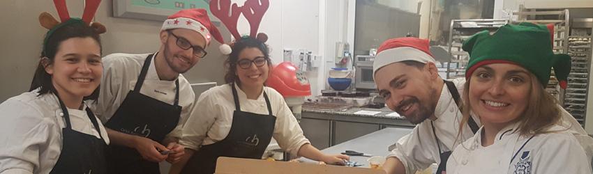 Alumnas de Dirección y Gestión de Artes Culinarias viajan a Barcelona para realizar su práctica profesional
