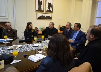 Autoridades de Universidades del Regnum Christi visitaron la U. Finis Terrae