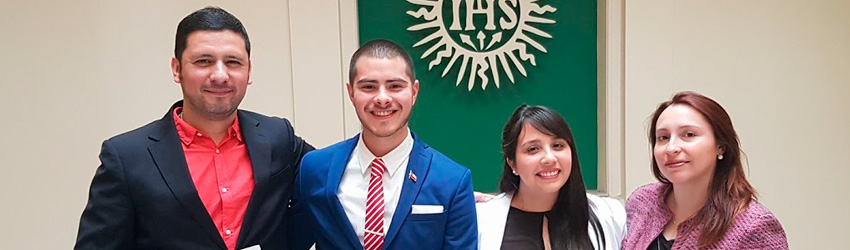 Ayudantes de investigación de la F. de Derecho de la U. Finis Terrae ganan premio en evento internacional organizado en la Universidad Católica de Uruguay