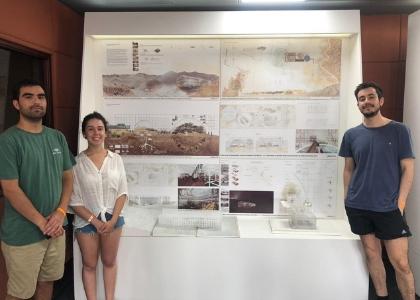 Estudiantes de Arquitectura ganan concurso de la Asociación Latinoamericana del Acero