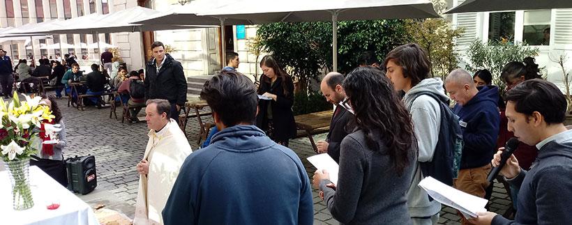 Universidad Finis Terrae celebra Solemnidad de Corpus Christi