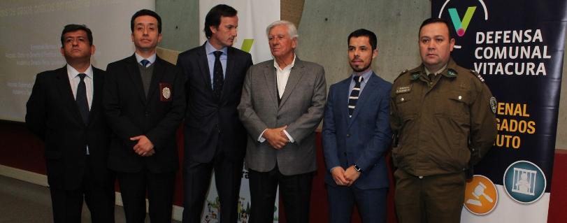 Académicos de Derecho de la Universidad Finis Terrae capacitan a carabineros y PDI de Vitacura