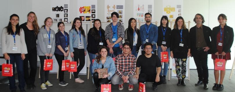Alumnos de Taller Diseño Gráfico V de la U.Finis Terrae presentaron proyectos para Nestlé y Morgan