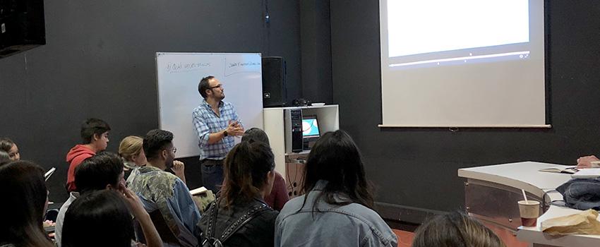 Alumnos de periodismo asisten a exclusivo taller de open data y data journalism
