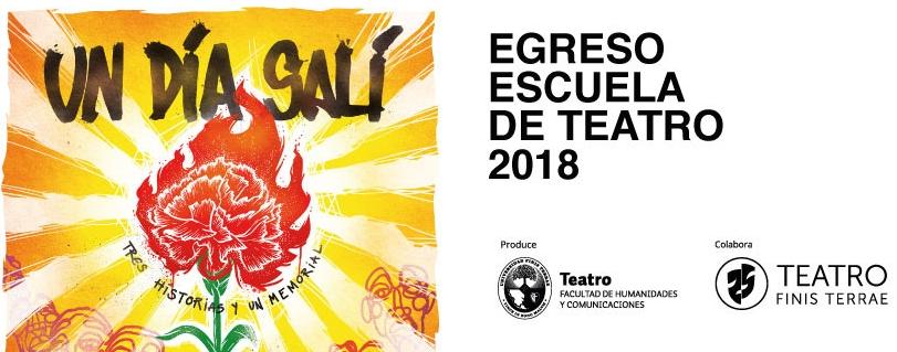 El desarraigo, la inmigración y el exilio aborda  obra de egreso de la Escuela de Teatro U. Finis Terrae