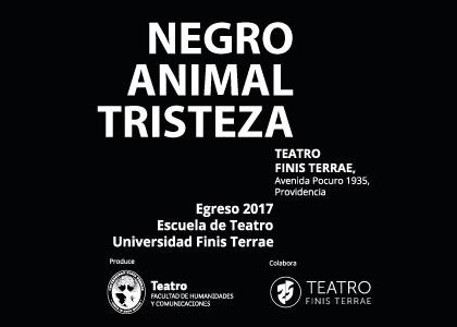 """""""Negro animal tristeza"""": la dramaturgia alemana se toma el egreso de la Escuela de Teatro de la Universidad Finis Terrae"""