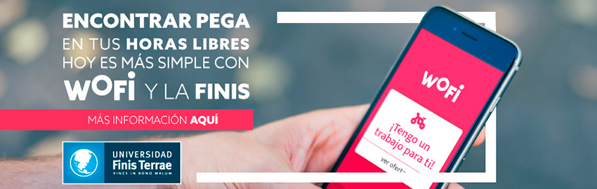 Finis Terrae firma convenio con portal de empleos WOFI
