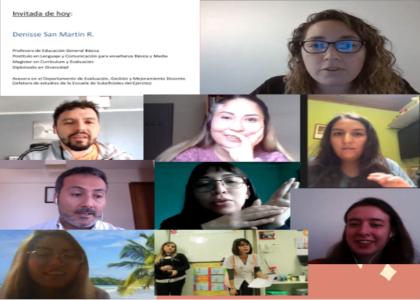 Pedagogía en Educación Básica inició conversatorios con profesores de contextos educativos no tradicionales