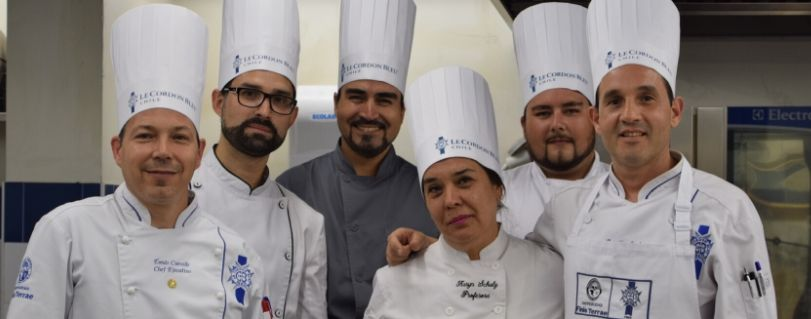 """Dirección y Gestión de Artes Culinarias capacitó a académicos de colegio de Fundación """"Belén Educa"""""""
