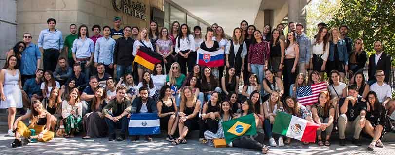 66 estudiantes extranjeros escogieron la U. Finis Terrae para realizar su intercambio