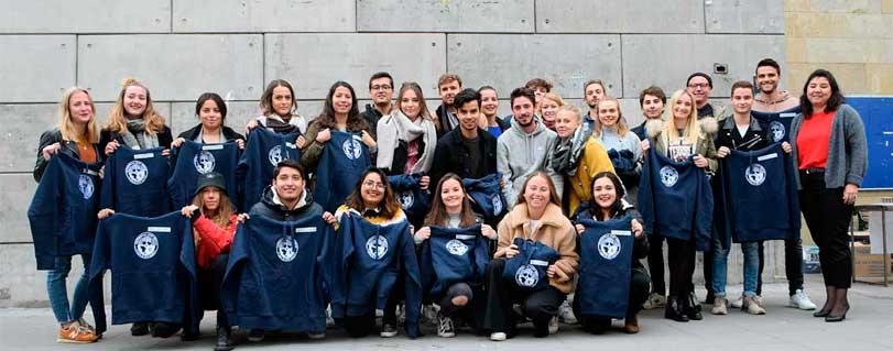 Autoridades universitarias dieron la bienvenida oficial a los estudiantes extranjeros de intercambio