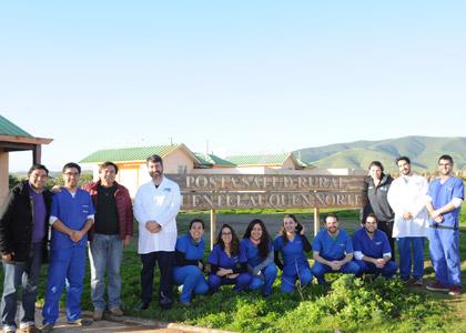 Escuela de Odontología realiza operativo de atención primaria en la comuna de Canela