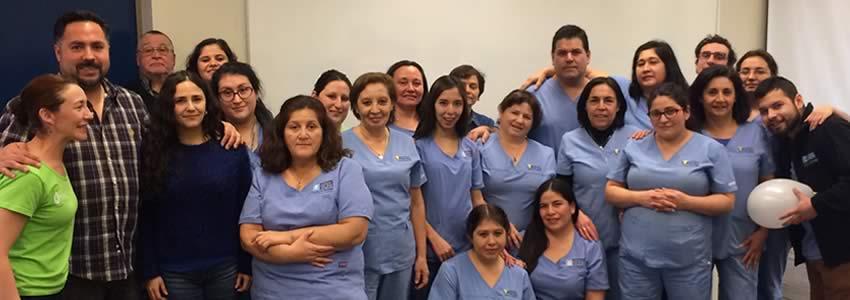 Mutual de Seguridad realiza capacitación a funcionarios de clínica odontológica