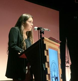 Discurso de Catalina Briceño Paredes