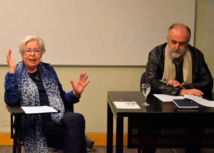 Adriana Valdés expuso sobre arte, política y mujeres en la Cátedra Siglo XXI