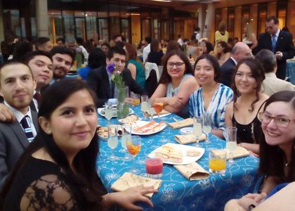 Facultad de Derecho realiza ceremonia de fin de año