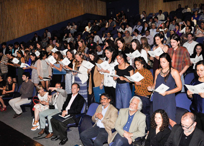 Artes Visuales realizó su Ceremonia de Licenciatura