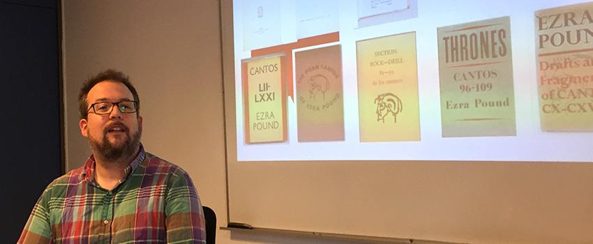 Seminario Permanente de Literatura e Intermedialidad presenta: charla