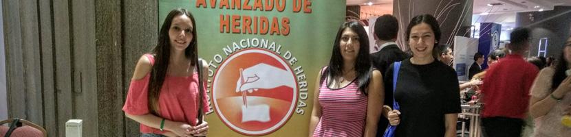 Alumnas y docente de Enfermería participaron en 3er Congreso Latinoamericano de Heridas