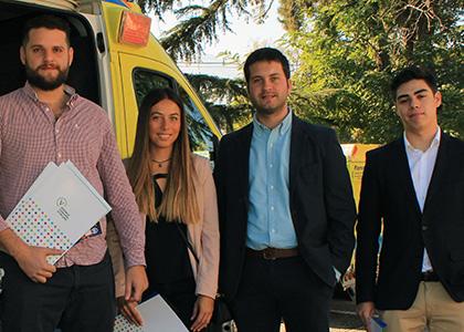 Vecinos de Vitacura reciben asistencia jurídica de Clínica Penal de Derecho de la Universidad Finis Terrae