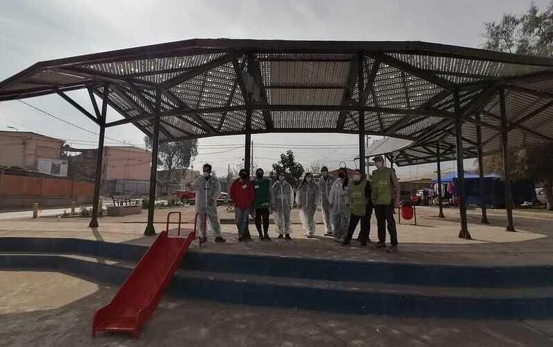 Estudiantes de Arquitectura diseñan sombreadero para Plaza de Colina