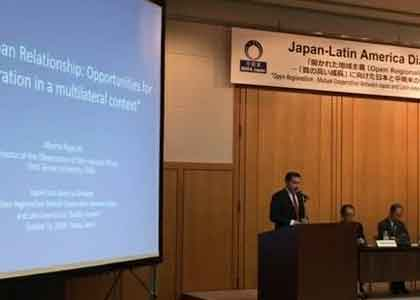 Director del Observatorio de Asuntos Internacionales participó en conferencia internacional en Japón