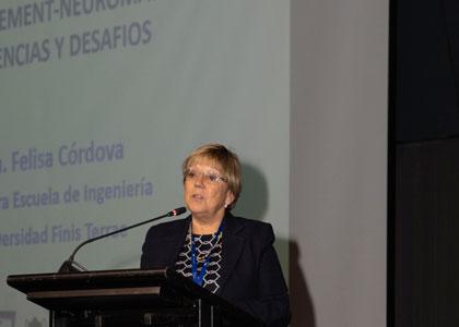 Dra. Felisa Córdova presentó avances de su investigación en Neuromanagment en el Congreso Internacional IoT Innovatech
