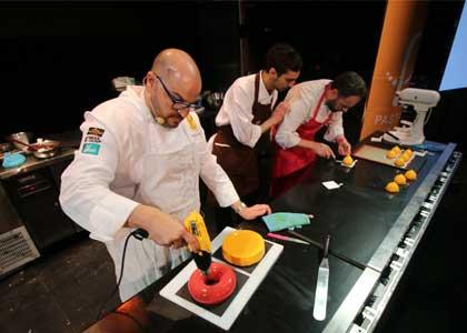 """Expertos mundiales realizaron exitosa jornada en el II Congreso Internacional de Pastelería """"Pastry Chile"""" en la U. Finis Terrae"""