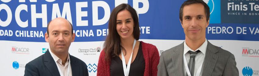 Universidad Finis Terrae fue sede del 62° Congreso de la Sociedad Chilena de Medicina del Deporte