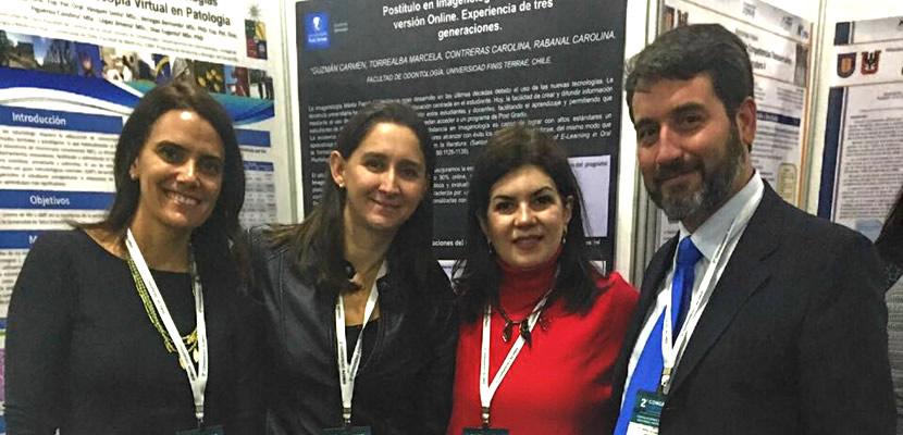 Facultad de Odontología participó en el segundo Congreso de la Asociación Chilena de Enseñanza de la Odontología