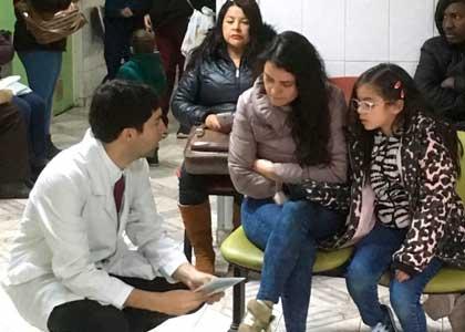 Escuela de Medicina incorporó nuevo campo clínico rural en la comuna de La Cruz
