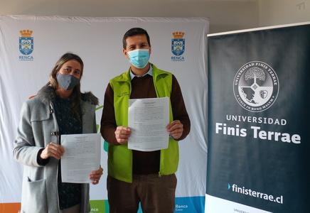FAD firma convenio con Municipalidad de Renca
