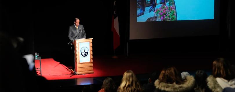 """Rector Cristian Nazer en cuenta pública: """"Avanzar a la complejidad es instalar una nueva cultura y en ello el compromiso de todos es fundamental"""""""