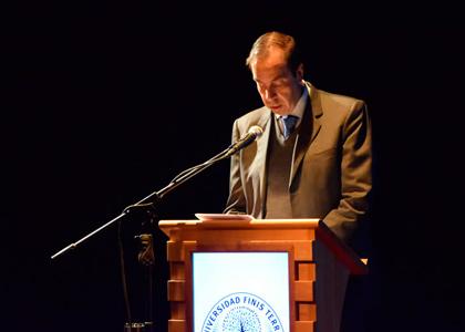 Rector Cristian Nazer da a conocer la Cuenta Pública Institucional 2016