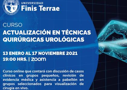 """Curso """"Actualización en Técnicas Quirúrgicas Urológicas"""" tuvo su clase inaugural"""