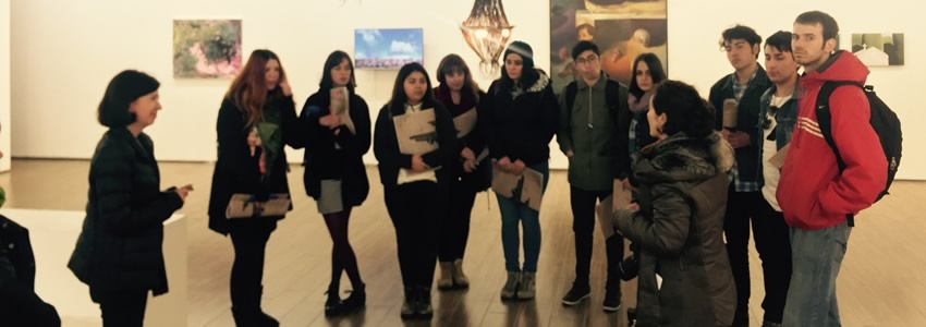 Alumnos del curso de Gestión Cultural y Formación de Proyectos realizaron salidas a terreno