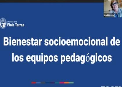 Decana Marilú Matte participó en ciclo de conversatorios de la Subsecretaría de Educación Parvularia