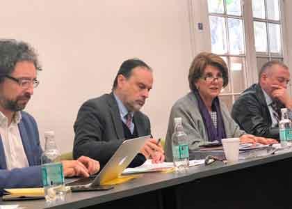 """Académicos Enrique Navarro y José Ignacio Núñez participaron en workshop """"Justicia Constitucional y Vicios de Forma"""""""