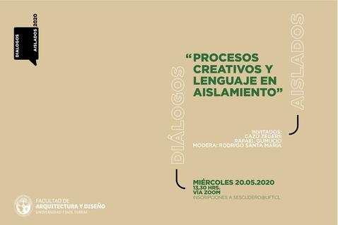 """Rafael Gumucio y Cazú Zegers participarán en ciclo """"Diálogos aislados"""""""