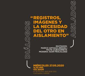 Maite Zubizarreta y Marco Artigas en