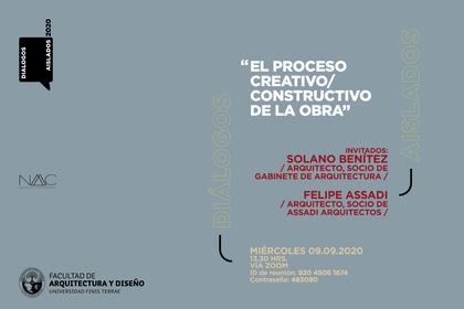 Solano Benítez conversará con Felipe Assadi en