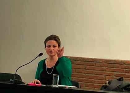 Profesora María Angélica Benavides expone en Congreso Estudiantil de la Facultad de Derecho de la Universidad Alberto Hurtado