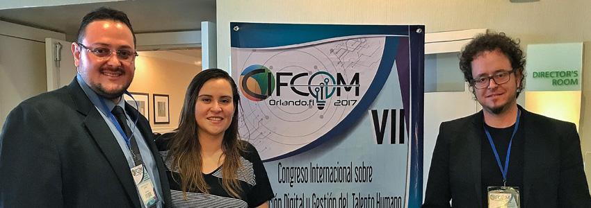 Destacada participación de docentes de Creatividad en VII Congreso Internacional sobre Educación Digital y gestión del talento Humano