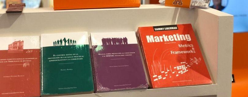 Ediciones Universidad Finis Terrae participó en la Feria Internacional del Libro de Guadalajara