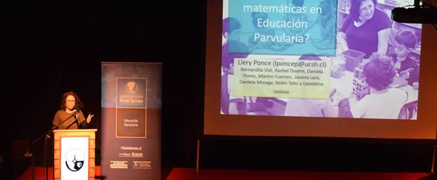 Educación Parvularia realizó Seminario de Investigación en Educación de Párvulos en Chile