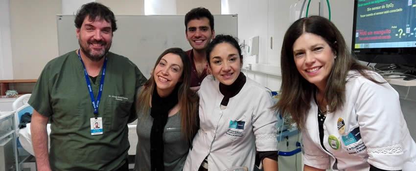 Escuela de Enfermería realiza VII Curso Internacional de Formación de Instructores de Educación en Simulación Clínica
