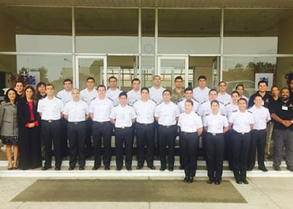 Escuela de Enfermería participa en curso de Formación instructores de Sanidad en la Academia Politécnica Naval
