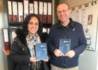 Dirección de Personas entregó Ideario y credenciales a colaboradores de la U. Finis Terrae
