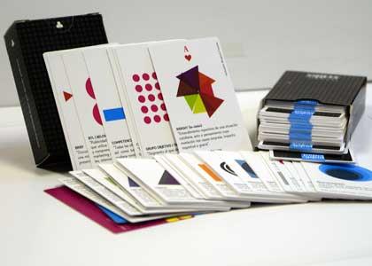 Con un juego de naipes carrera de Publicidad de la U. Finis Terrae enseña conceptos a sus estudiantes