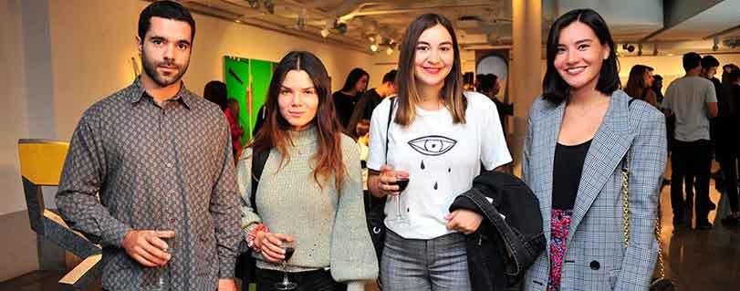 """Egresados de Artes Visuales inauguraron muestra """"Ladera"""" en Galería Patricia Ready"""
